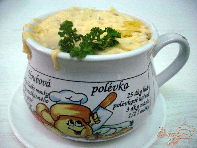 Фото приготовление рецепта: Луковый суп шаг №8