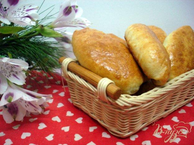 Рецепт Пирожки с сердцем и квашеной капустой
