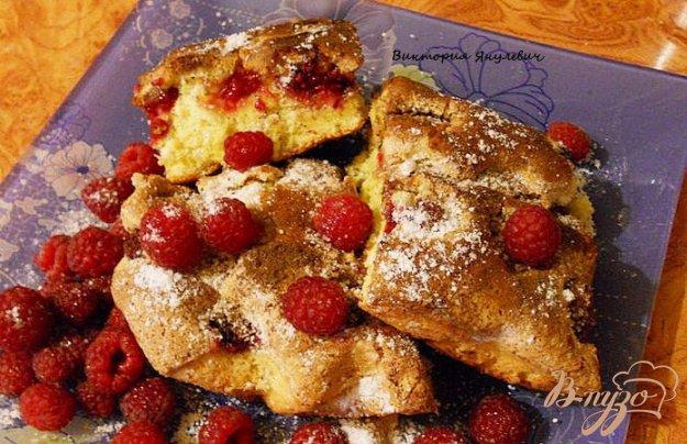 Рецепт Нежное пирожное с шафраном