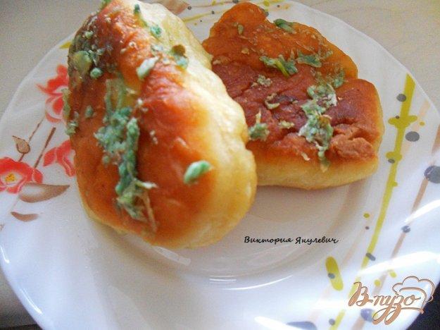 Рецепт Пирожки с картофельным пюре с чесночной заправкой