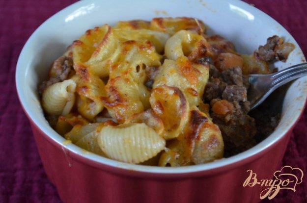 Рецепт Паста с говяжим фаршем по-гречески