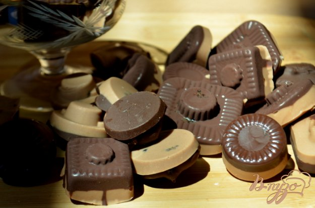 Рецепт Шоколадные конфеты с начинкой