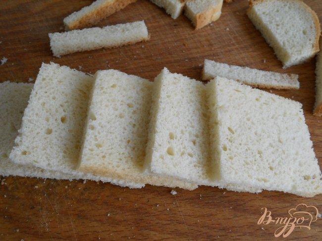 Фото приготовление рецепта: Бутерброды с семгой шаг №1