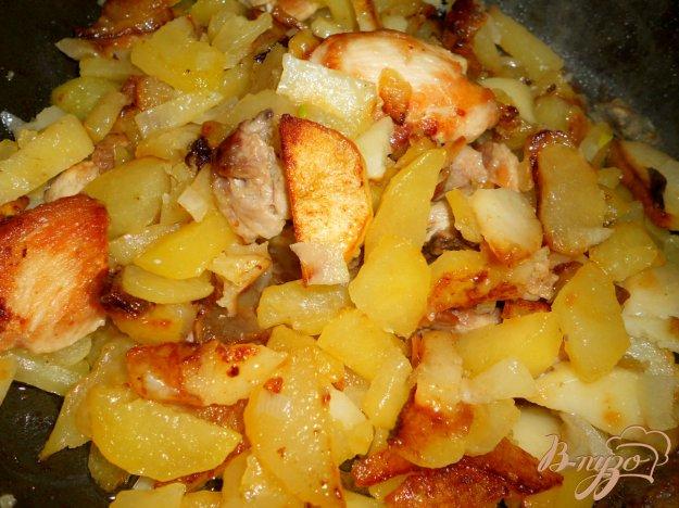 смешивать картошка с курицей жареная рецепт президенты Ксения