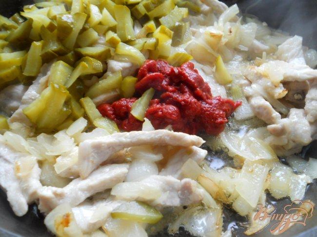 Фото приготовление рецепта: Солянка по-грузински шаг №3