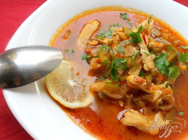 фото рецепта: Солянка по-грузински