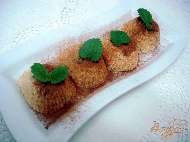Рецепт Творожно - яблочный десерт в микроволновке