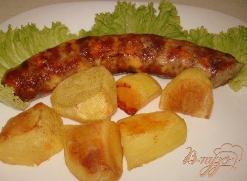 Колбаски домашние рубленые