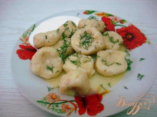 Клёцки с сыром