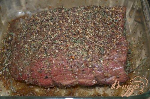 Жаркое из говядины с пряной корочкой