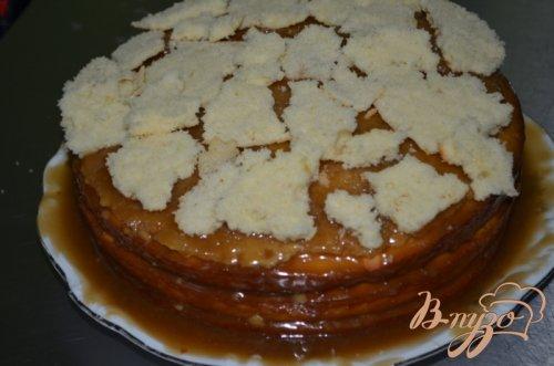 Простой карамельный торт