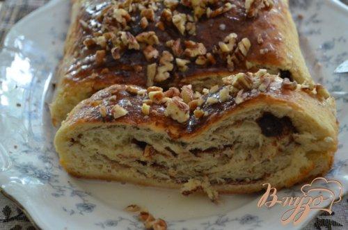 Домашний хлеб с корицей