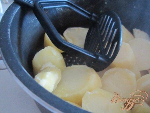 Картофельные бочонки с начинкой