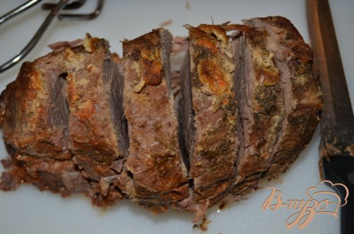 Тушеная нежная говядина с овощами