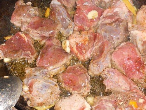 Говядина в цитрусовом маринаде