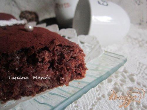 Картофельно-шоколадный пирог