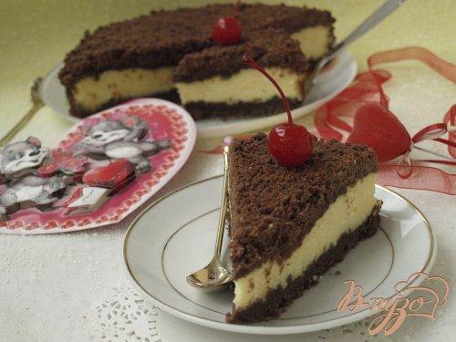 """Творожный """"торфяной"""" пирог"""