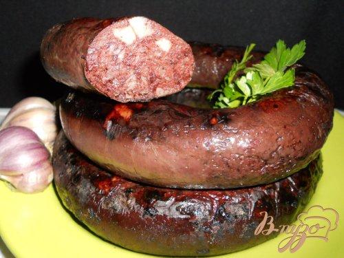Колбаса домашняя кровяная