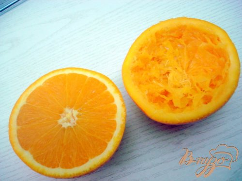 А-ля  апельсины  (желе в апельсиновых долькох.)