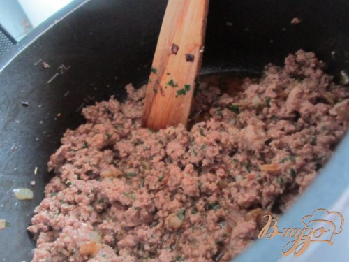 Ma'loubeh - Рис с баклажанами и фаршем