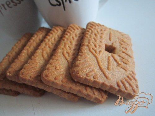 Кофейный мусс с пряным печеньем