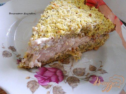 Маково - ореховый бисквит