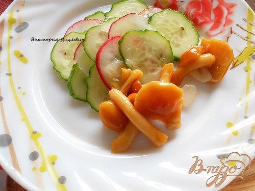 Маринованный овощной салат