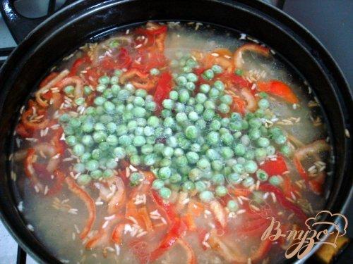 Рис карри с овощами