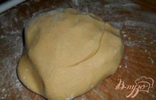 Быстрое кофейное печенье с джемом