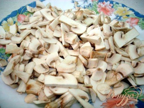 Картошка жареная с грибами