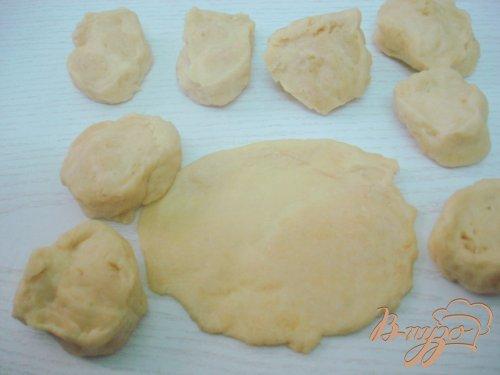 Пирожки с сердцем и квашеной капустой
