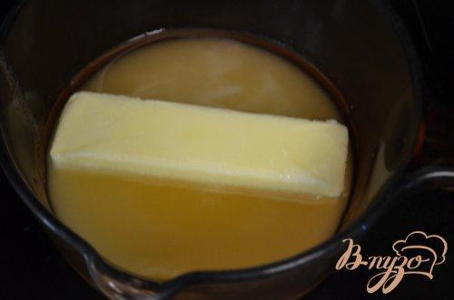 Кекс с медовой- апельсиновой глазурью