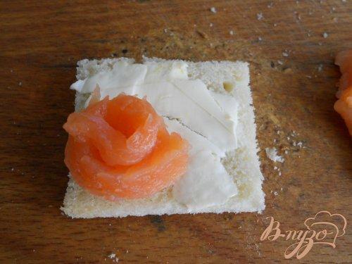 Бутерброды с семгой