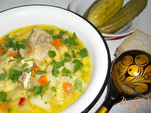 Рецепт Суп деревенский с курицей