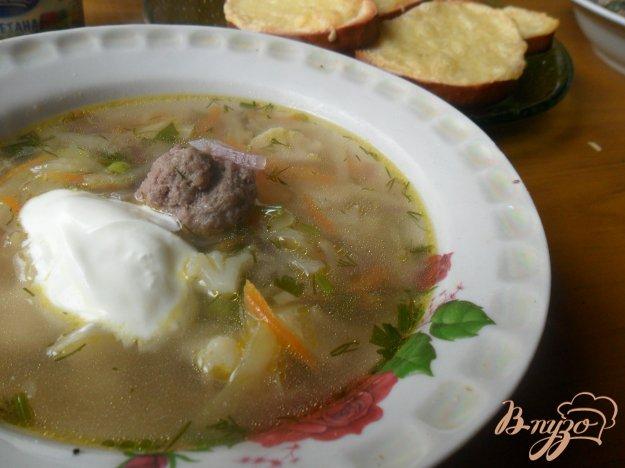 Рецепт Весенний суп с фрикадельками