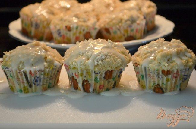 Фото приготовление рецепта: Ванильные кексы с крошкой шаг №7