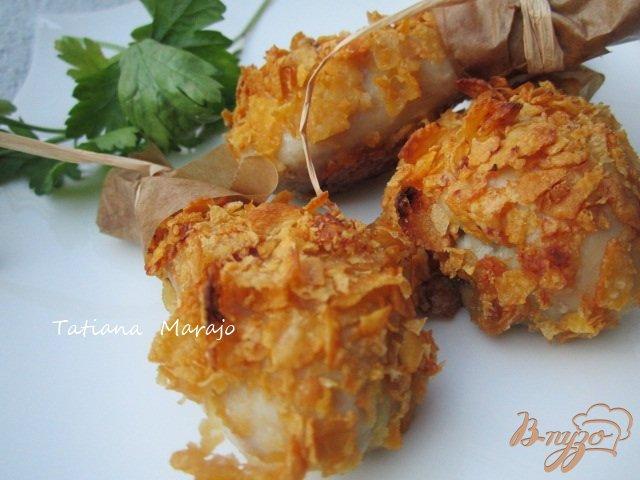 Фото приготовление рецепта: Нежные хрустящие куриные ножки шаг №5