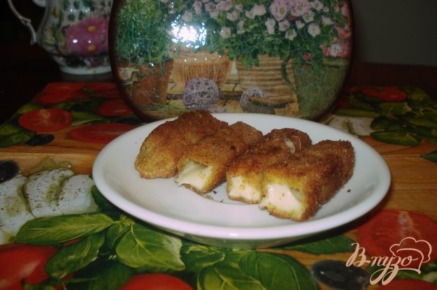 Рецепт Жареный твердый сыр