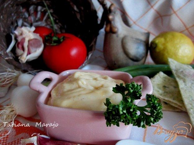 фото рецепта: Домашний майонез с хреном