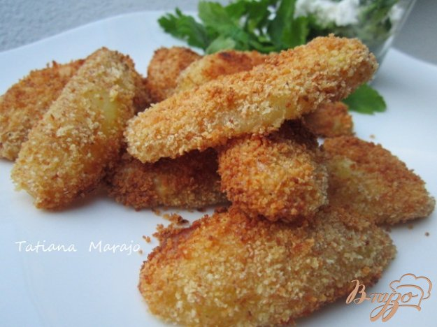 Рецепт Пикантные картофельные дольки