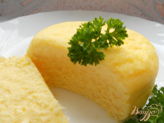 Фото приготовление рецепта: Омлет, приготовленный в банке шаг №6