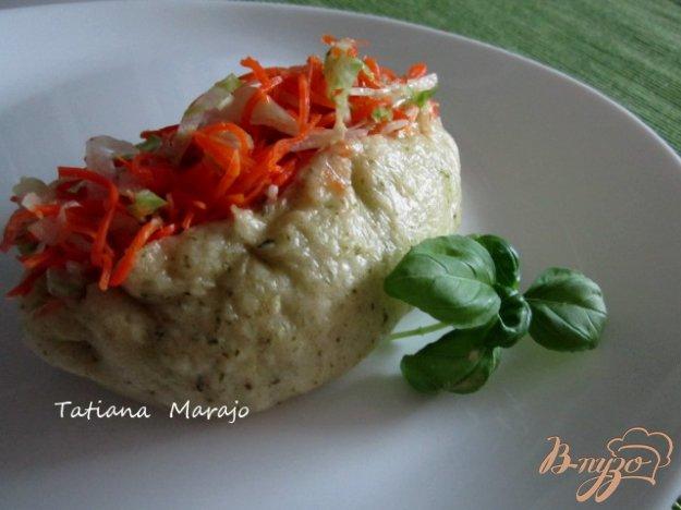 Рецепт Паровые пирожки с мясом и пикантными овощами