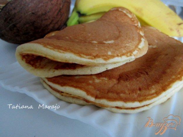 Рецепт Бананово-кокосовые оладьи