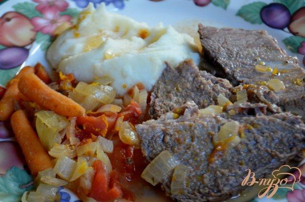 Рецепт Пикантное тушеное мясо