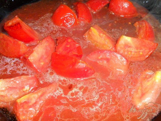 Фото приготовление рецепта: Чили с черной фасолью и шоколадом шаг №3
