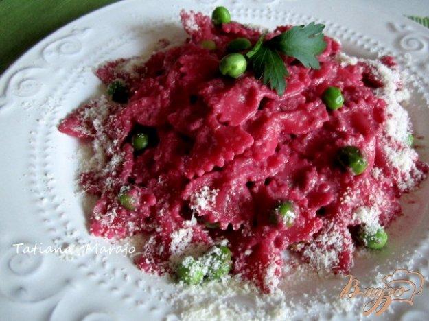 Рецепт Паста со свекольно-сливочным соусом