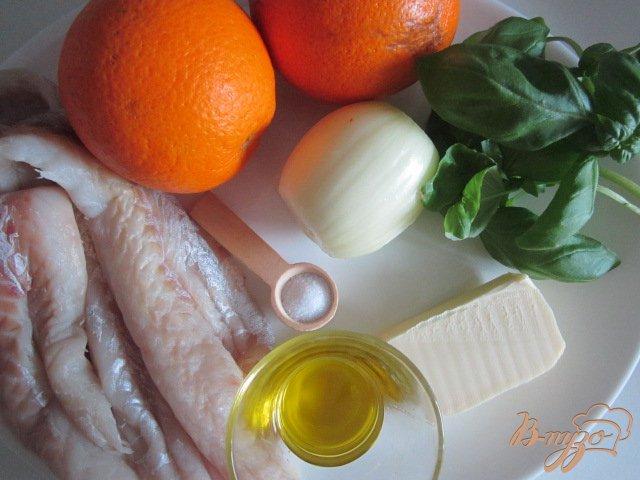 Фото приготовление рецепта: Рыбные улитки со сливочно-апельсиновым соусом шаг №1