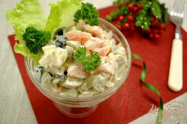 фото рецепта: Салат с отварной птицей