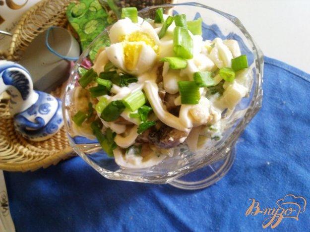 Рецепт Картофельный салат с шампиньонами