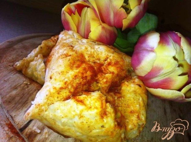 Рецепт Слоеные конвертики с сыром и паприкой